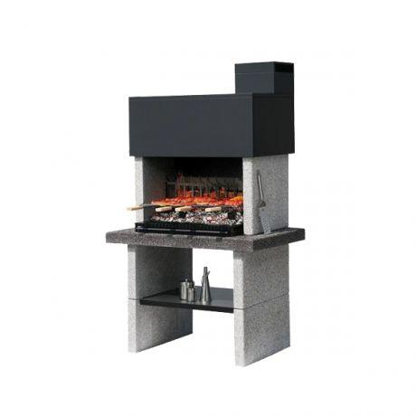 barbecue charbon fixe
