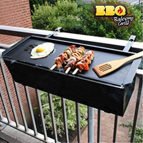 barbecue charbon sur balcon