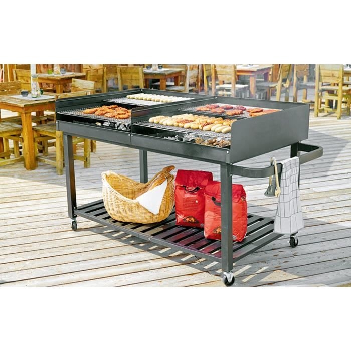 barbecue charbon xxl