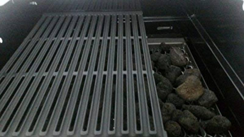 barbecue charbon ou pierre de lave