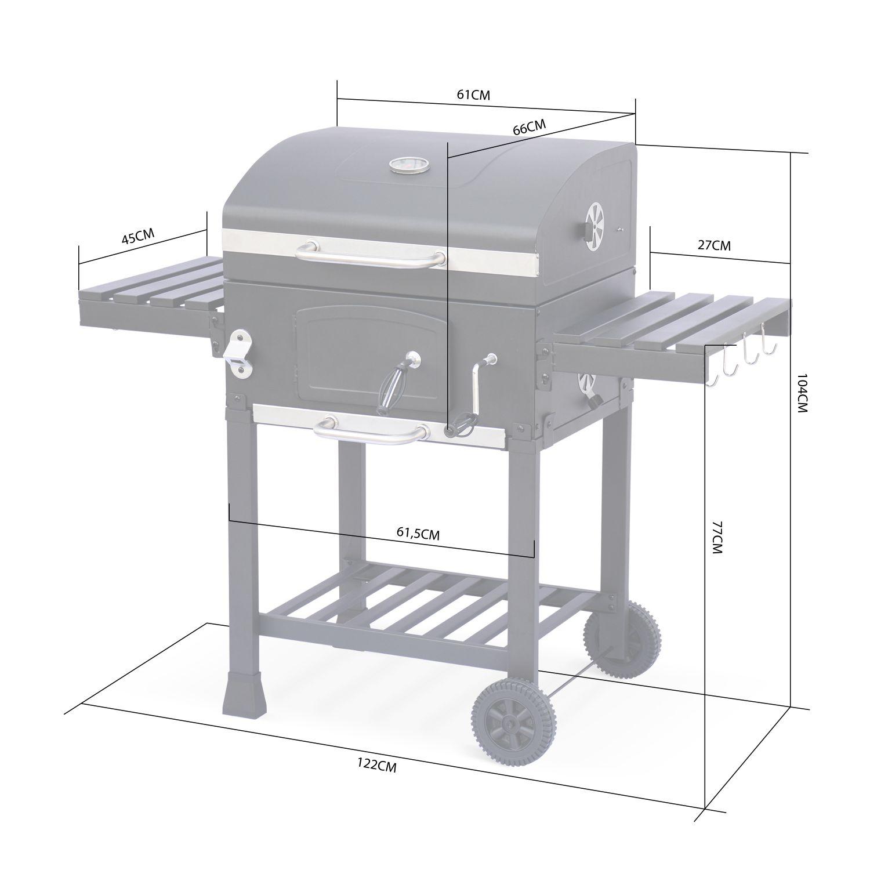 barbecue charbon italien