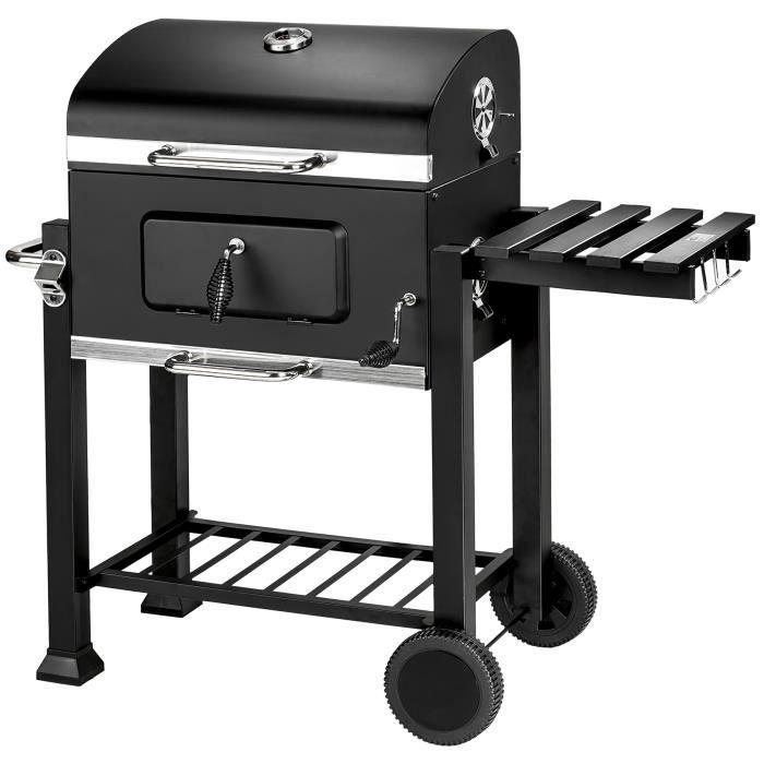 barbecue charbon et fumoir