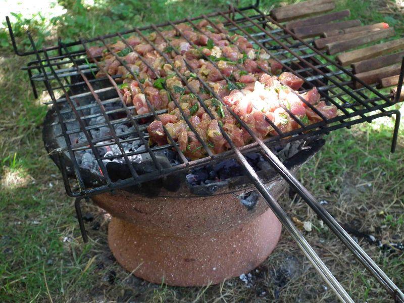 barbecue charbon maroc