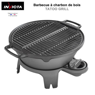 barbecue charbon grille fonte