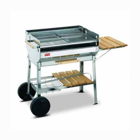 barbecue charbon en inox