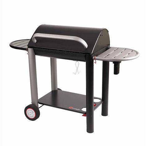 barbecue charbon vulcano 3000 charbon de bois fonte