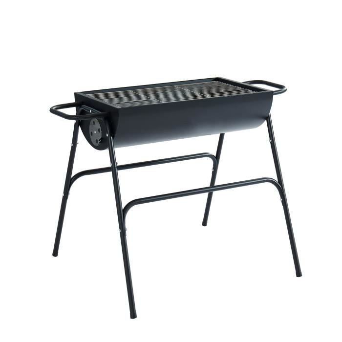 barbecue charbon transportable