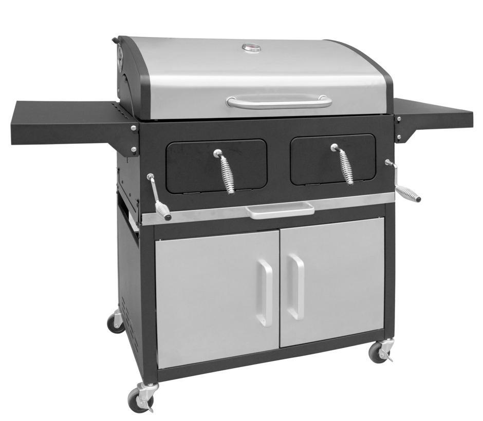barbecue charbon xxl professionnel