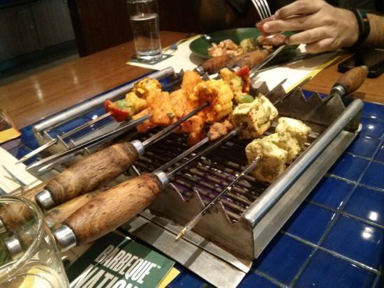 barbecue restaurant near omr