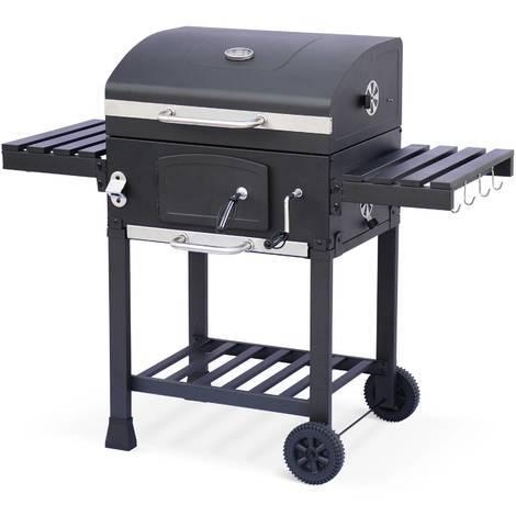 barbecue charbon technique