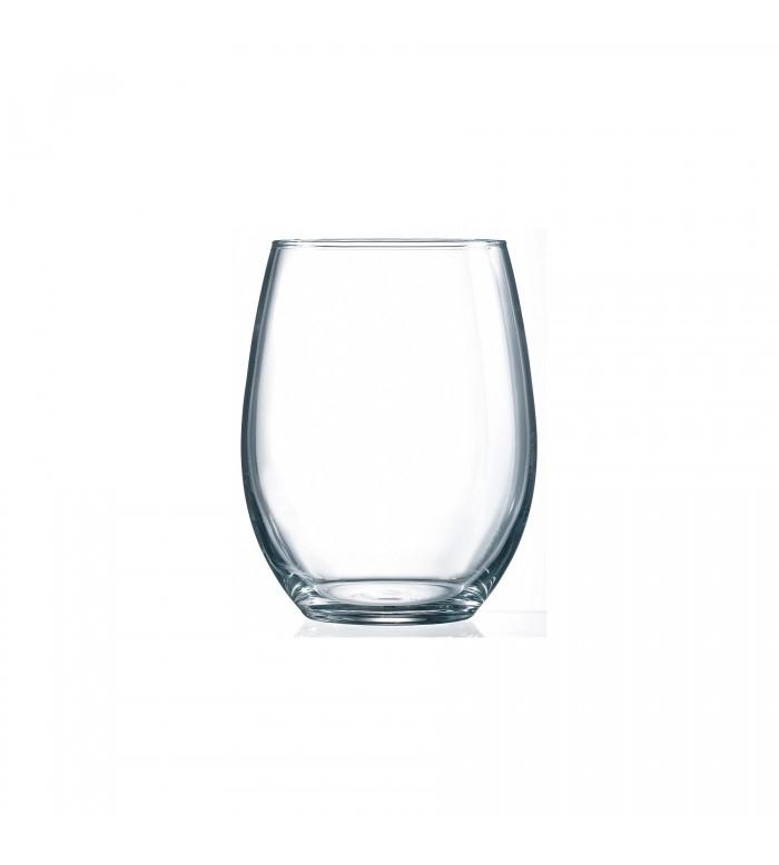 verre à vin blanc sans pied