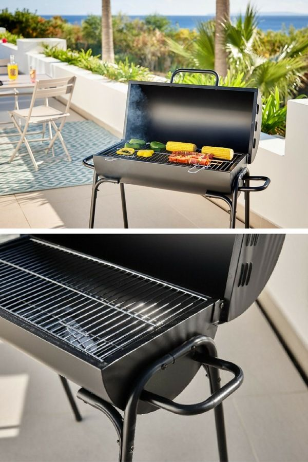 barbecue charbon terrasse