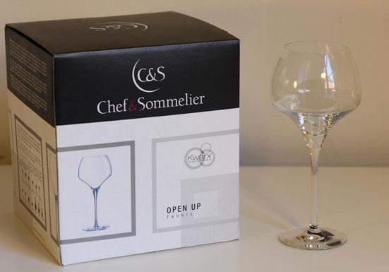 verre à vin chef et sommelier open up