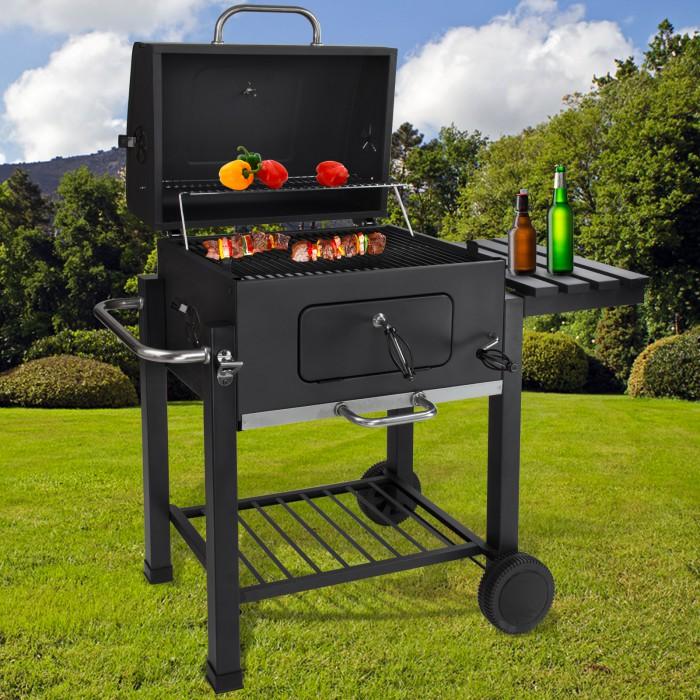 barbecue charbon fermé