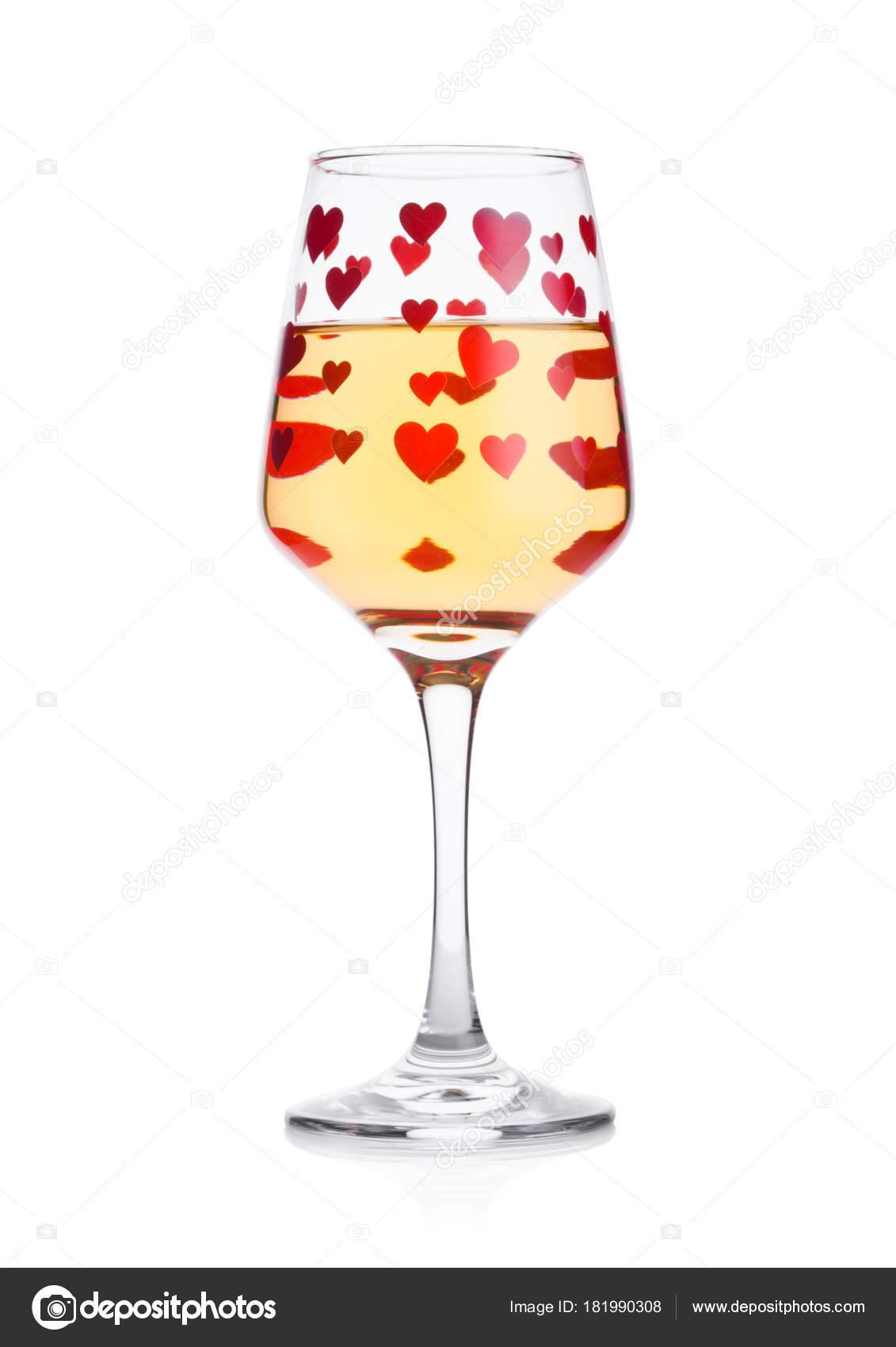 verre de vin blanc forme