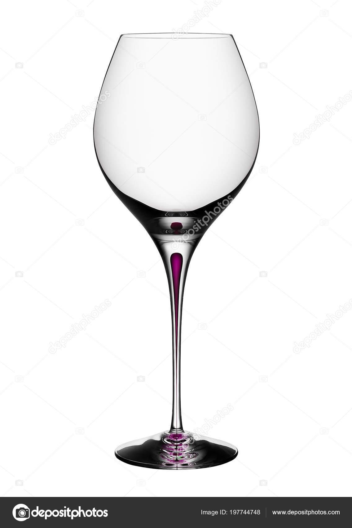 verre vin fond blanc