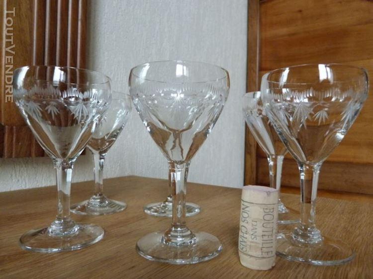 verre a vin rouge ancien