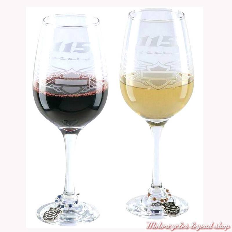 verre à vin harley davidson