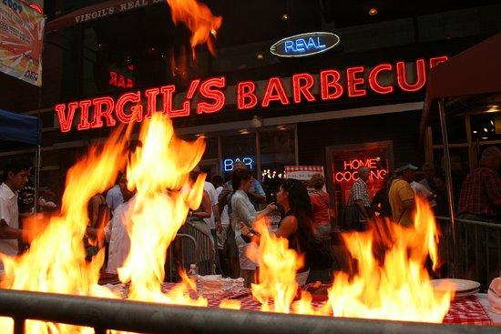 barbecue restaurant near times square