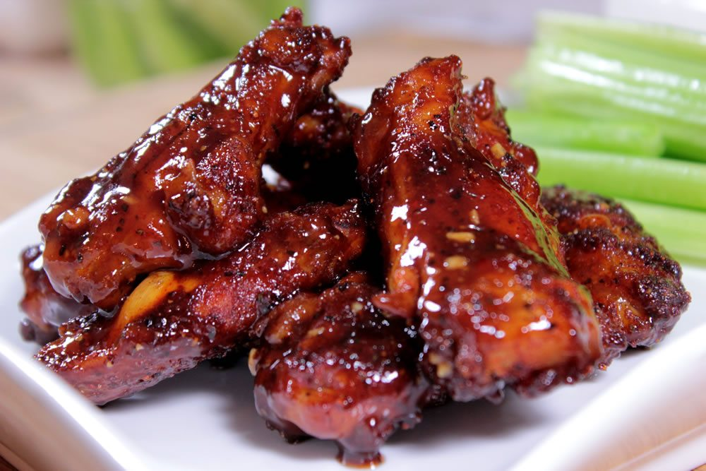 barbecue chicken wings near me
