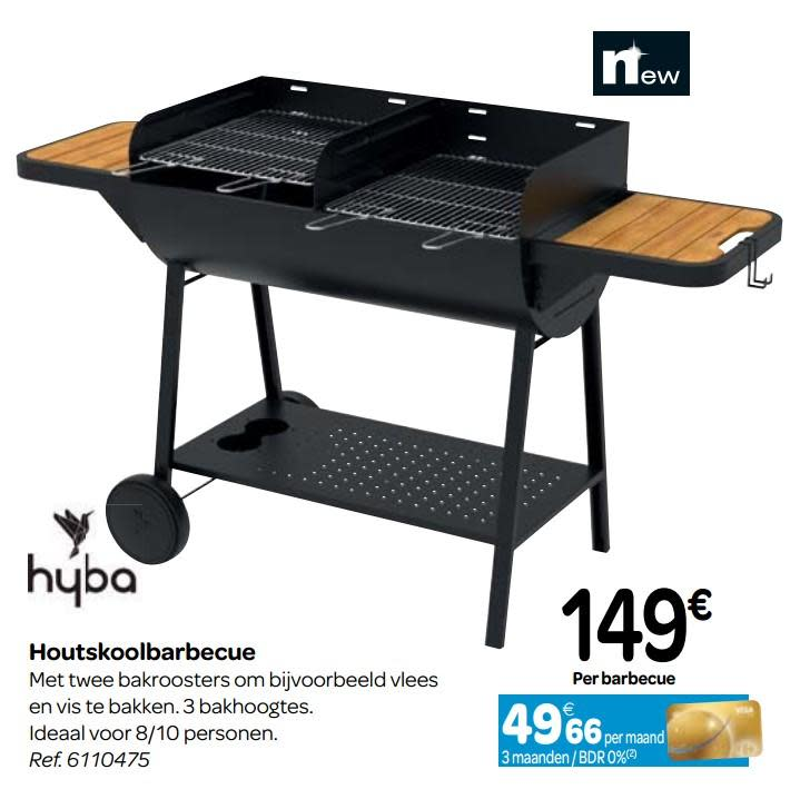 barbecue charbon hyba carrefour