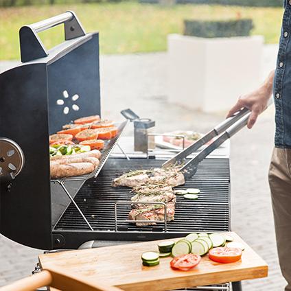 barbecue charbon hubo