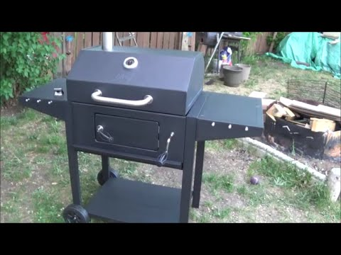 barbecue charbon - smoker chef xl