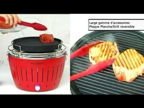 barbecue charbon ventilation active