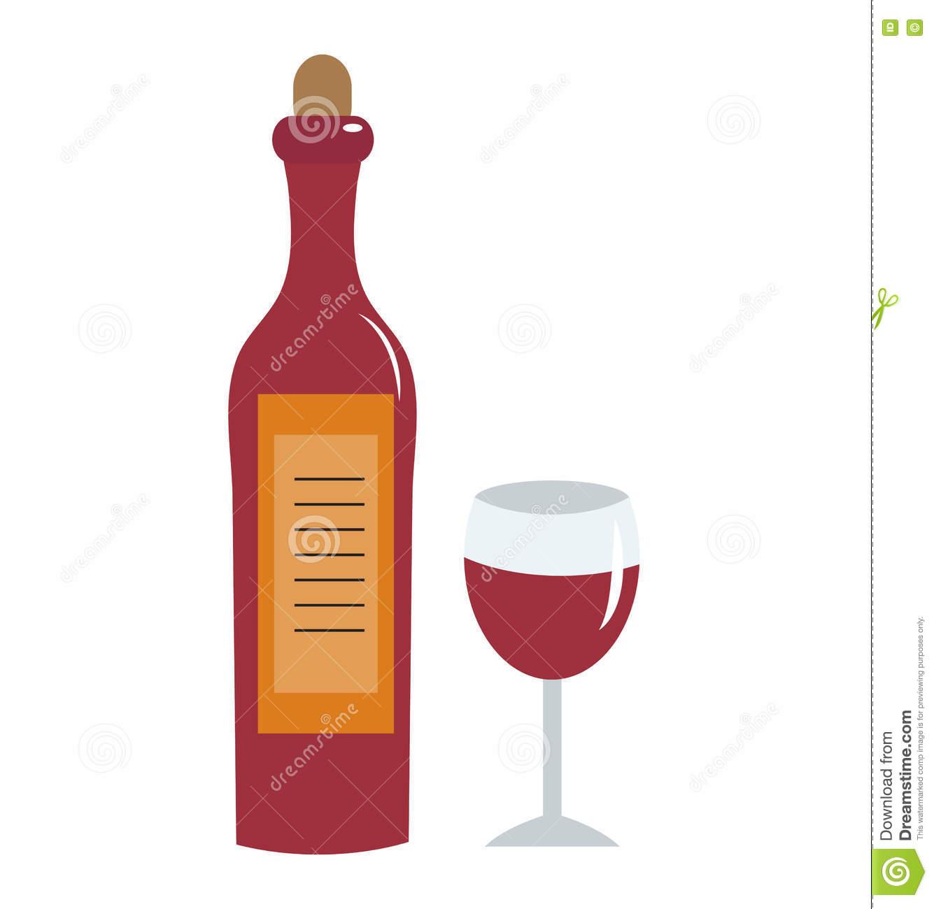 verre à vin fond plat