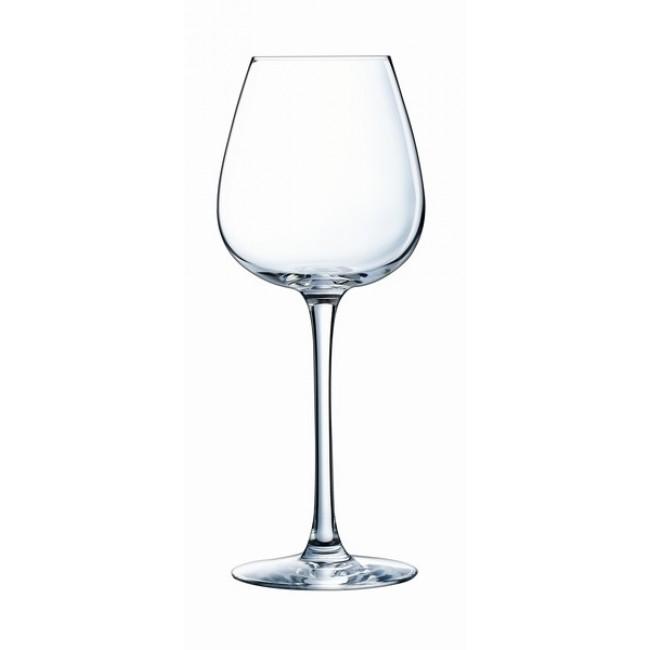 verre a vin drip rouge