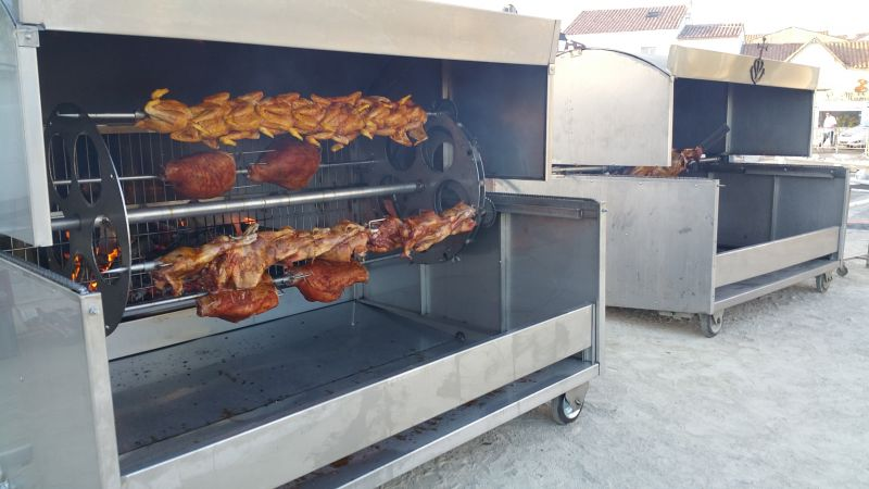 barbecue charbon geant