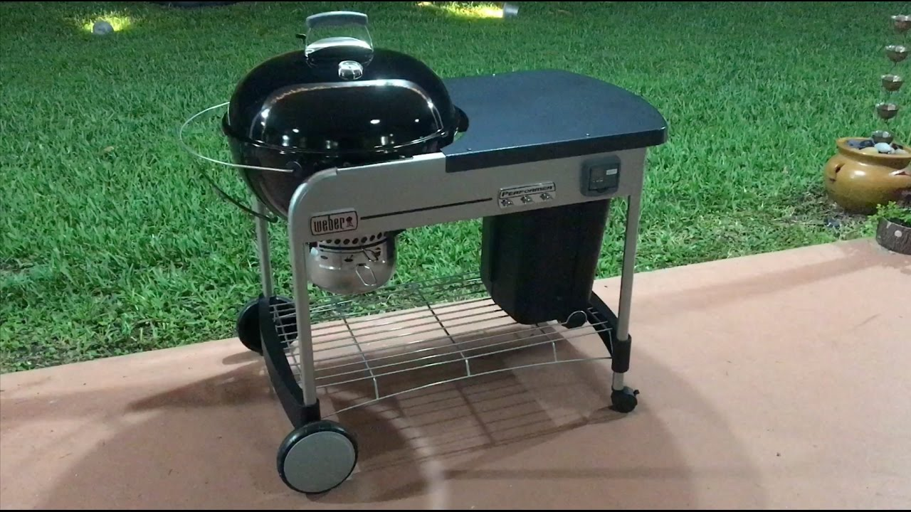barbecue charbon weber performer gbs 57cm black