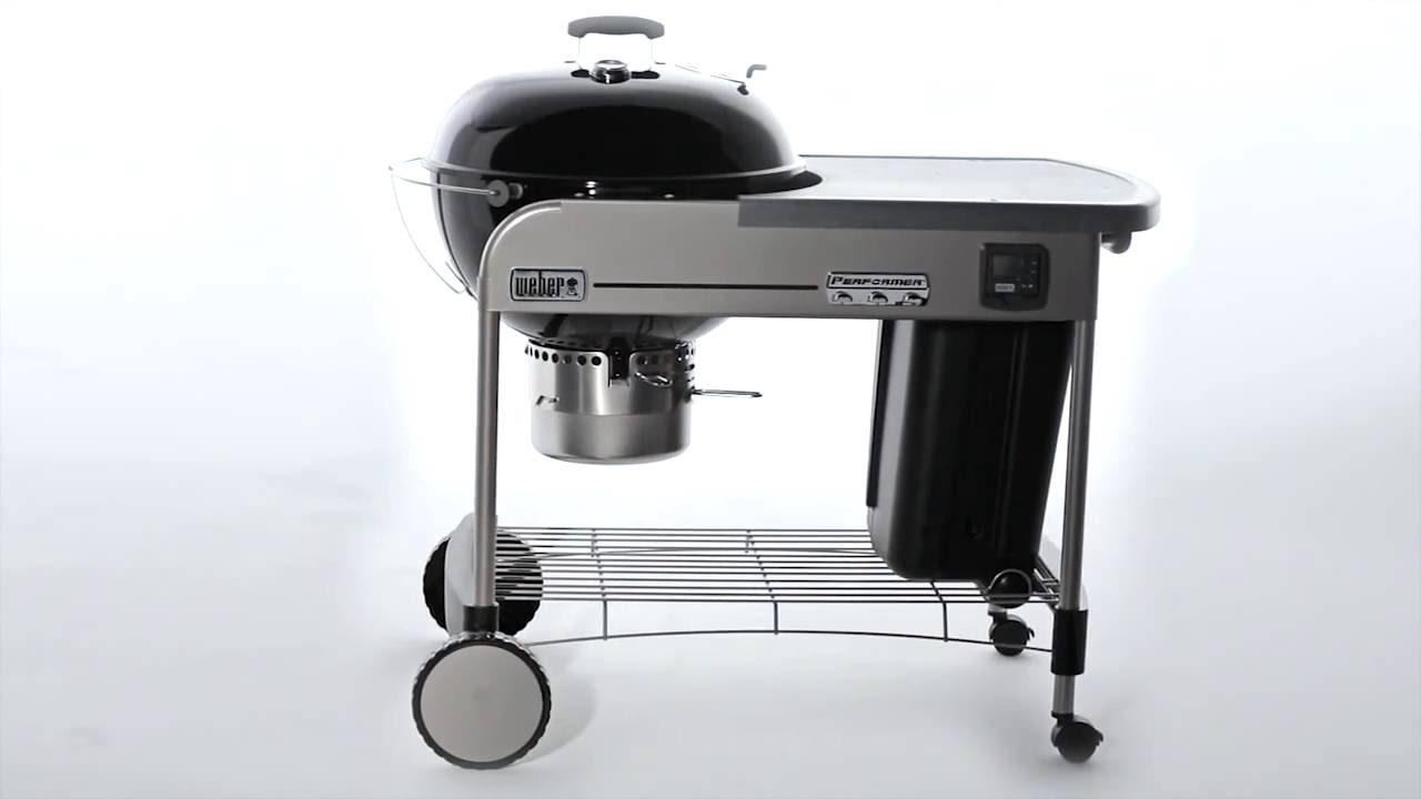 barbecue charbon weber performer premium gbs 57cm black