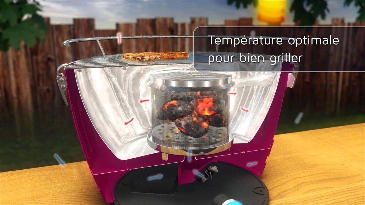 barbecue charbon sans fumée