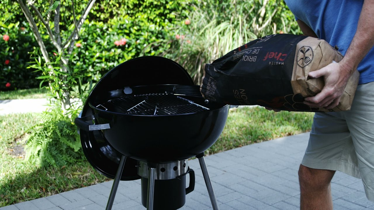 barbecue weber charbon notice