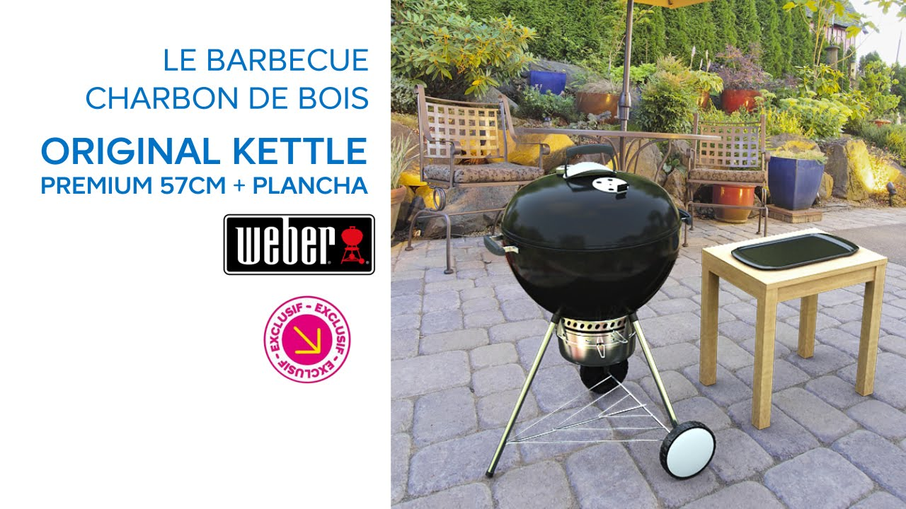 barbecue charbon weber kettle 57
