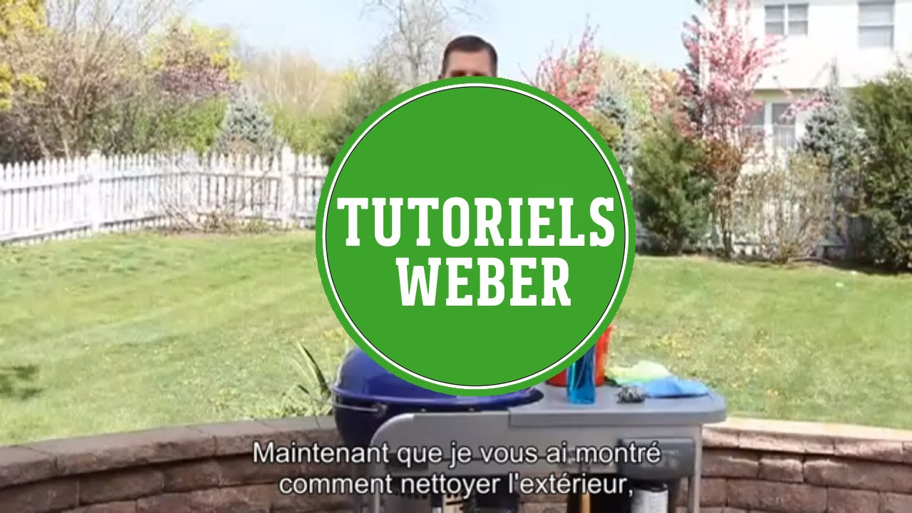 barbecue weber charbon youtube