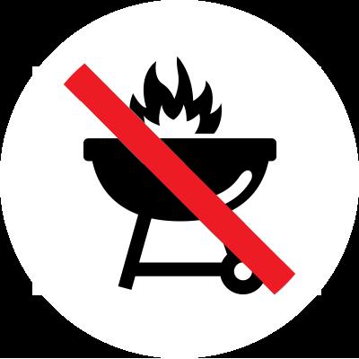 barbecue charbon interdit
