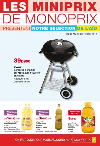 barbecue charbon tunisie