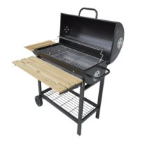 barbecue charbon grand format