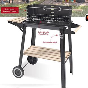 barbecue charbon promo