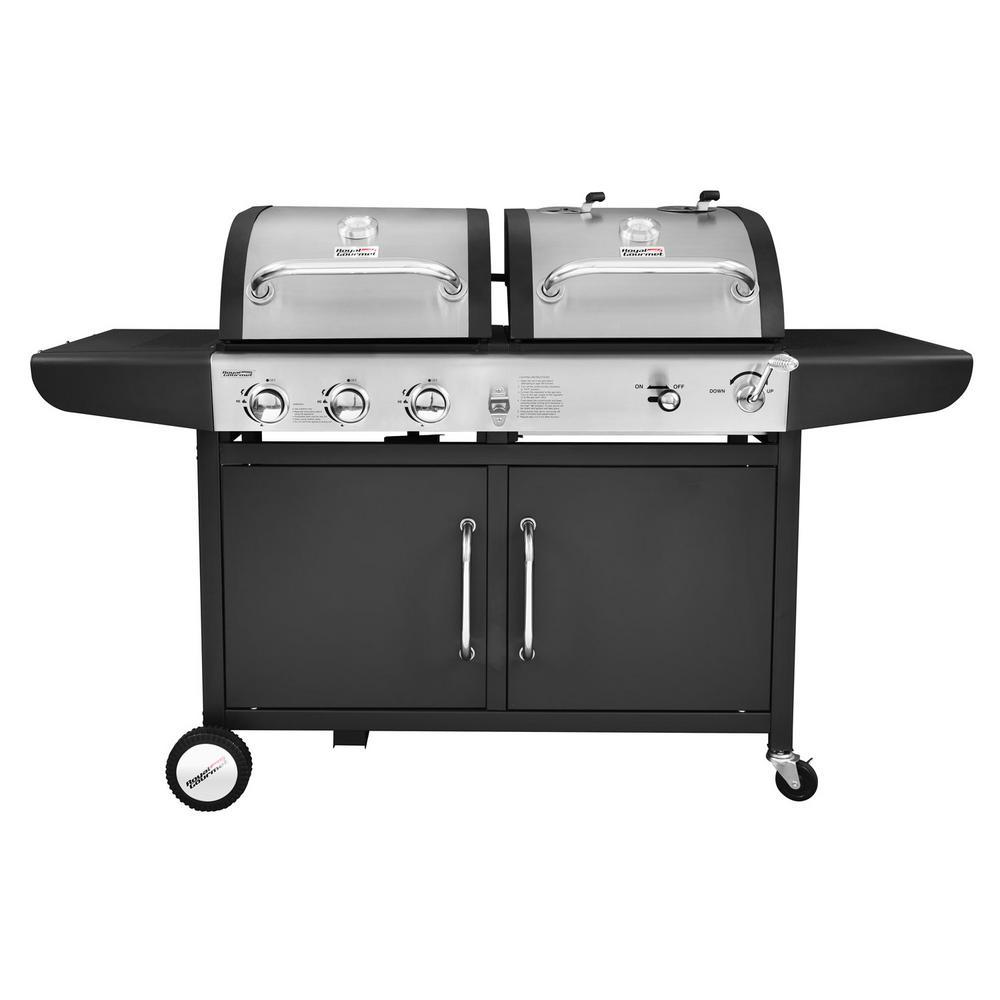 barbecue charbon et propane