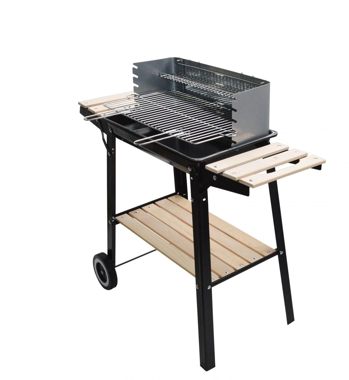 barbecue charbon inox