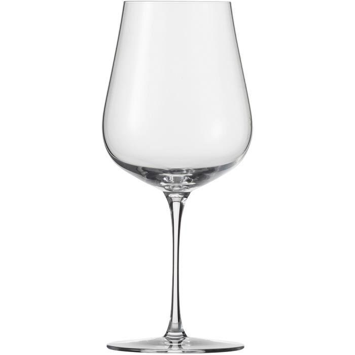 verre a vin rouge tulipe