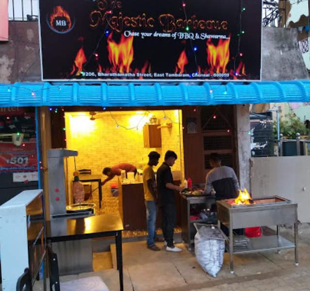 barbecue restaurant near tambaram