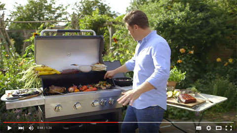 barbecue charbon jamie oliver