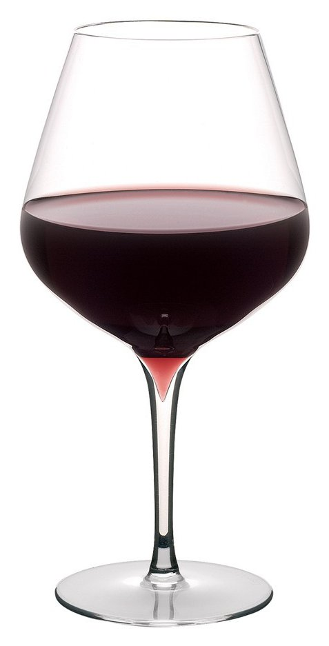 verre à vin rouge bordeaux