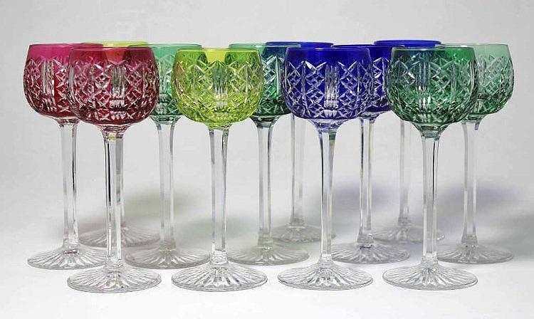 verre à vin d'alsace cristal