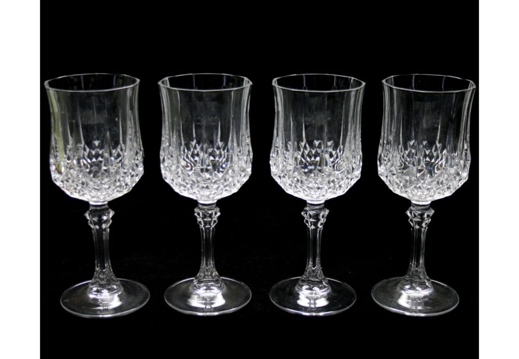 verre à vin en cristal