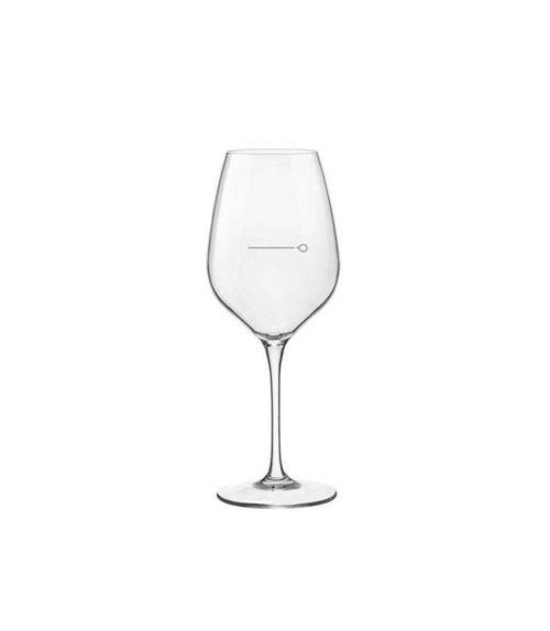 verre à vin jaugé